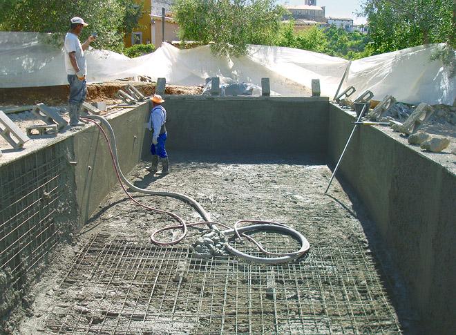 New Build Swimming Pool, Terraces, Dry Stone Walls - Sarah ...